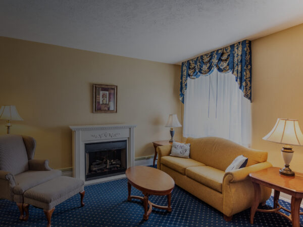 blue ridge suite with couch