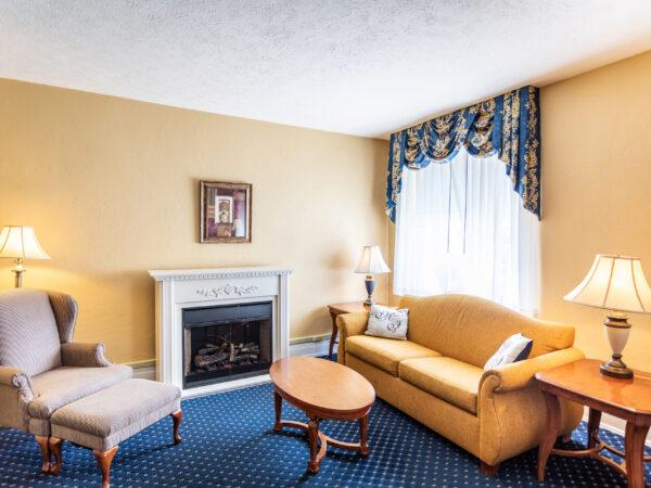 blue ridge suite room