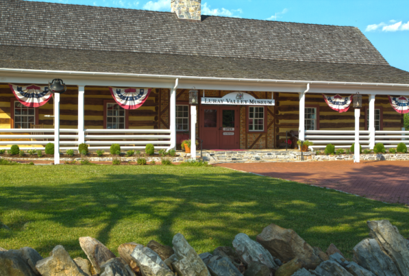 luray valley museum from outside